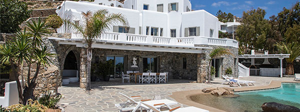 Luxury Villa Fabienne in Mykonos