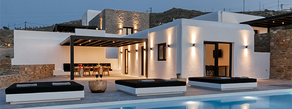 Luxury Villa Sea Urchin Estate in Mykonos