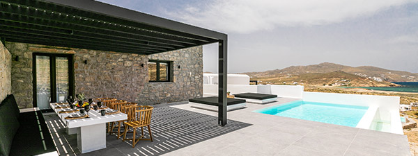 Luxury Villa Sea Urchin Three in Mykonos