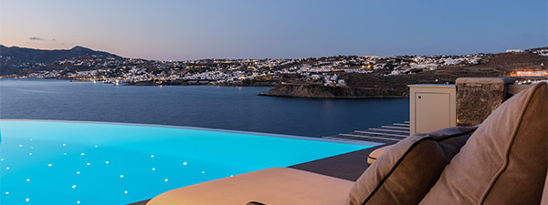 Luxury Villa Terra e Mare in Mykonos