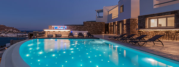 Luxury Villa Turquoise in Mykonos