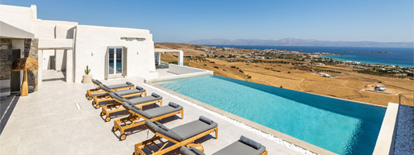 Luxury Villa Imperial in Paros
