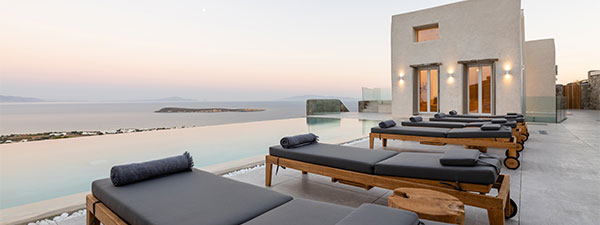 Luxury Villa Paradise in Paros