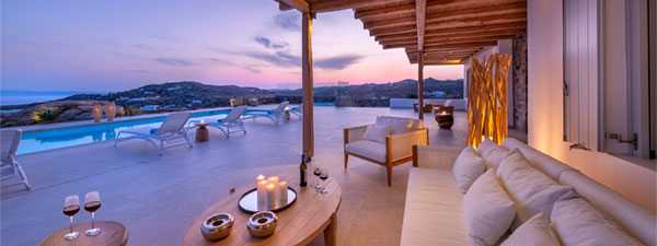 Luxury Villa Frederika in Mykonos