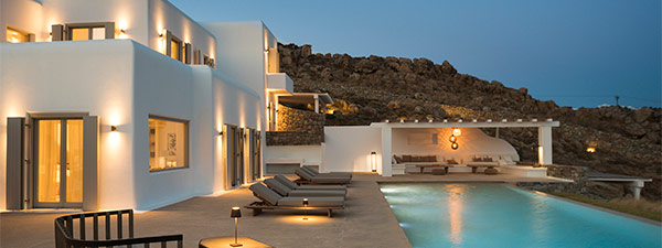 Luxury Villa Eden View in Mykonos