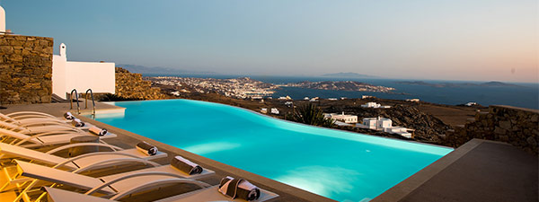 Luxury Villa Luce in Mykonos