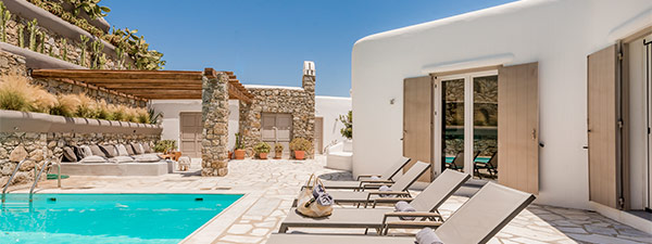 Luxury Villa Seascape in Mykonos